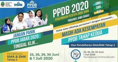 PPDB 2020 TAHAP 2 (ZONASI)
