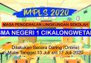 Pelaksanaan MPLS Daring 2020 SMAN 1 Cikalongwetan